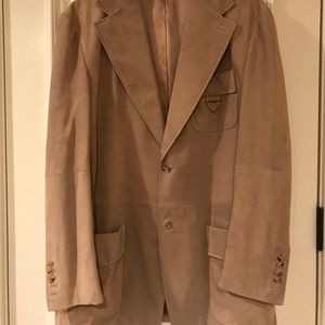 Gucci Suede Blazer/Jacket